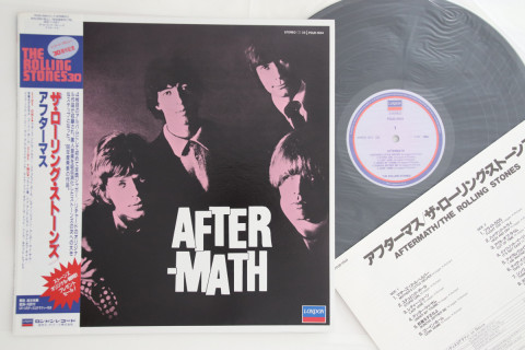 Rolling Stones - Aftermath Records Mail Order RECORD CITY Japan